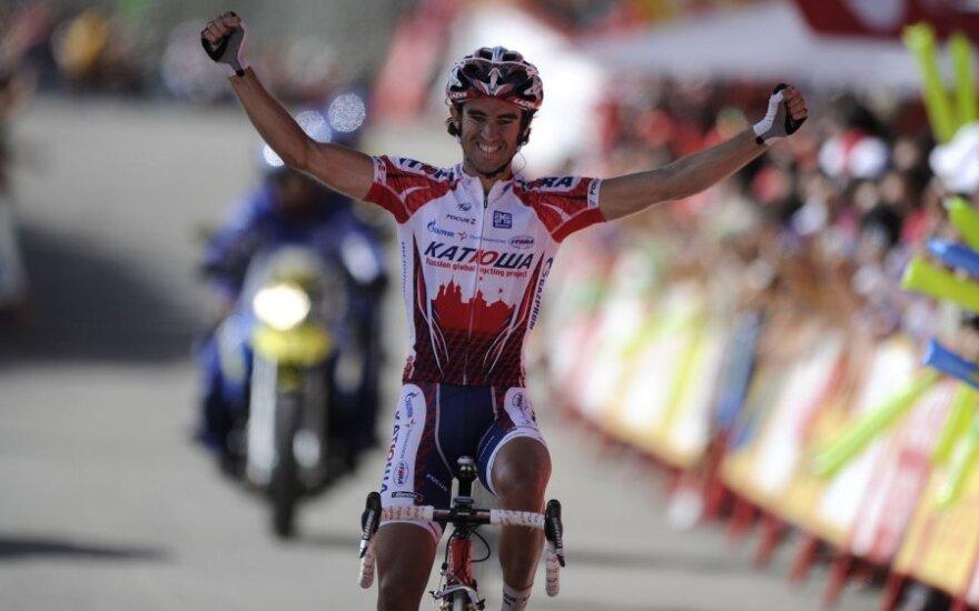 Etapą laimėjo Danielis Moreno