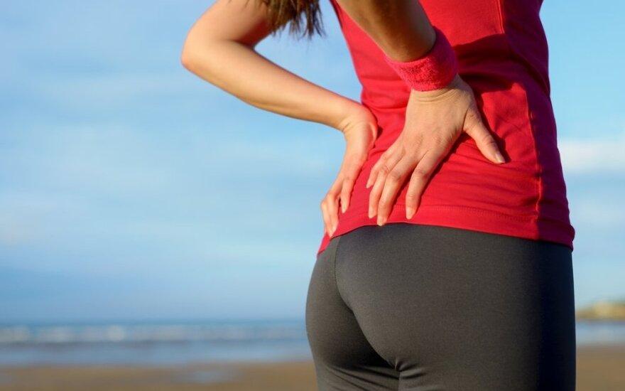Ką daryti, kad po treniruotės neskaudėtų raumenų