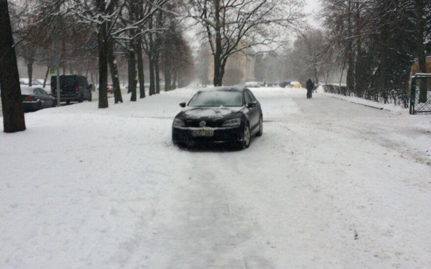 """Savaitės """"Baudos kvitas"""": žiemą aš pažeidinėju taisykles!"""