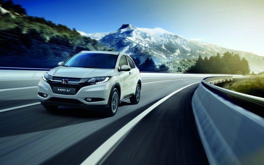 """""""Honda HR-V"""" žibintai gavo prasčiausią įvertinimą"""