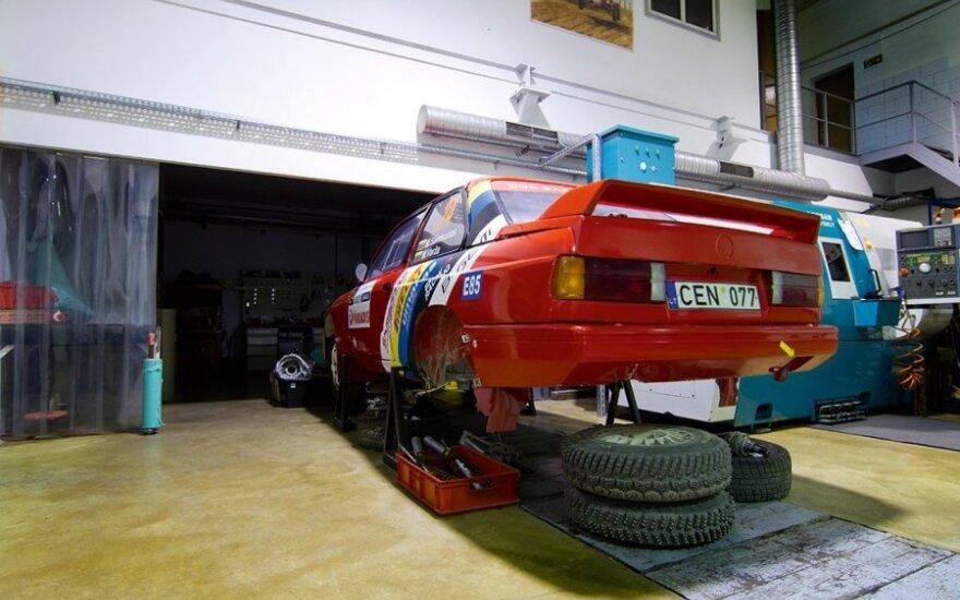 Samsonas Motorsport dirbtuvės