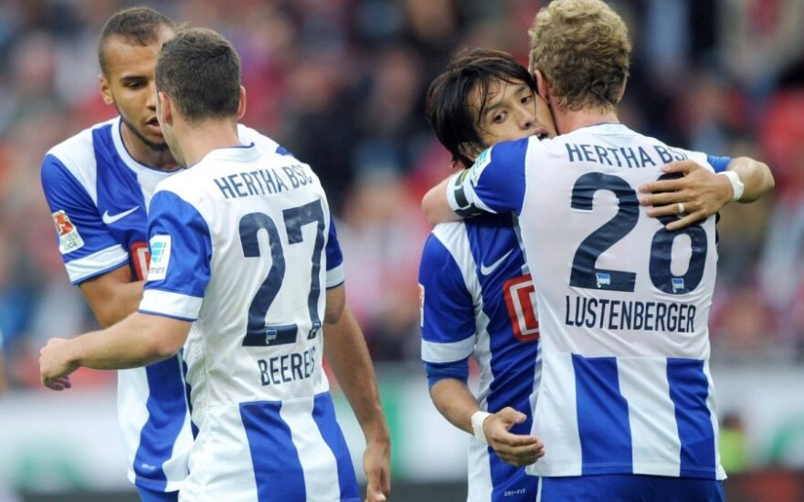 "Berlyno ""Hertha"" klubo futbolininkai"