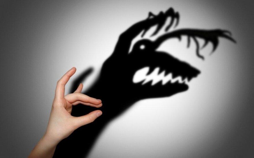 Kodėl vaikai bijo ir kaip tai nugalėti