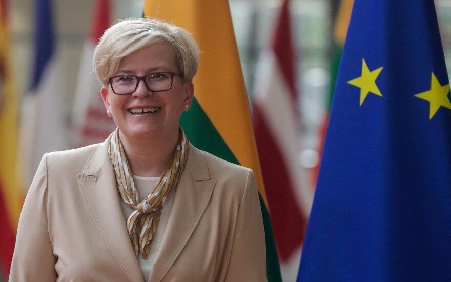 Ingrida Šimonytė Briuselyje
