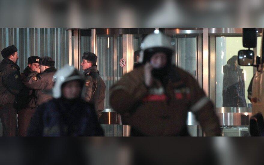 Domodedovo oro uoste tikrinamas anonimo pranešimas apie sprogimo grėsmę