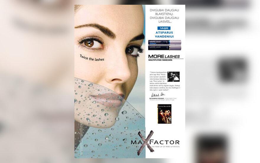 Max Factor More Lashes Waterproof tušas