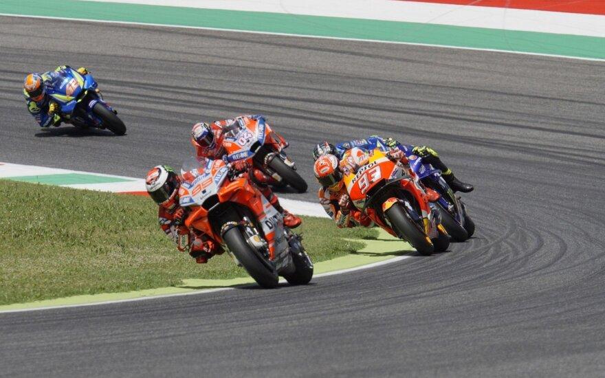 """Italijos etape triumfavo """"Ducati"""" pilotai"""