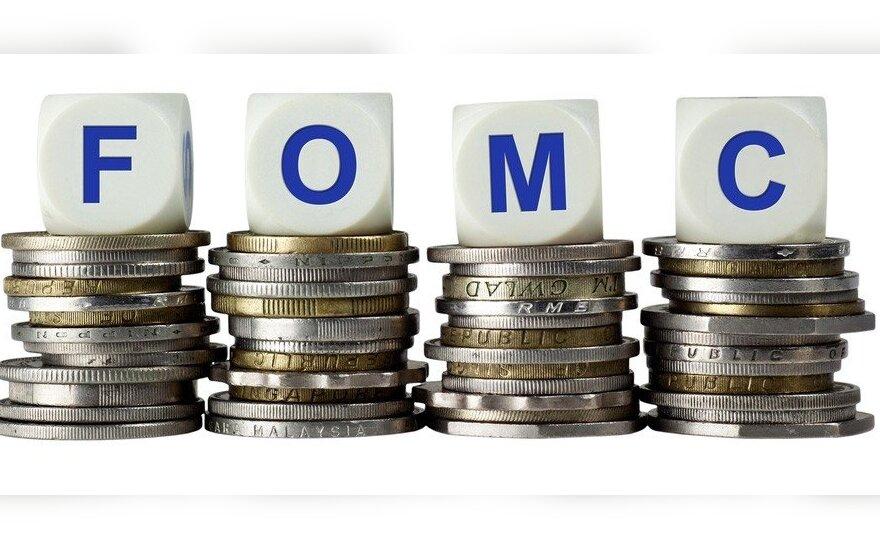 Rinkos dalyviai FOMC komentarus pasitinka skeptiškai