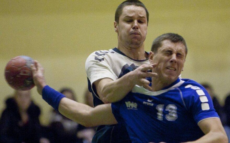 Lietuvos rankinio lygoje svečiams pavyko iškovoti tris pergales