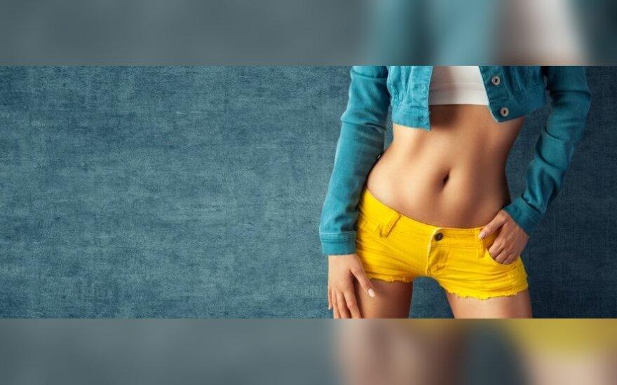 Pilvo apačios riebalus ištirpdys šie pratimai
