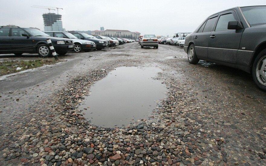 Automobilių aikštelė