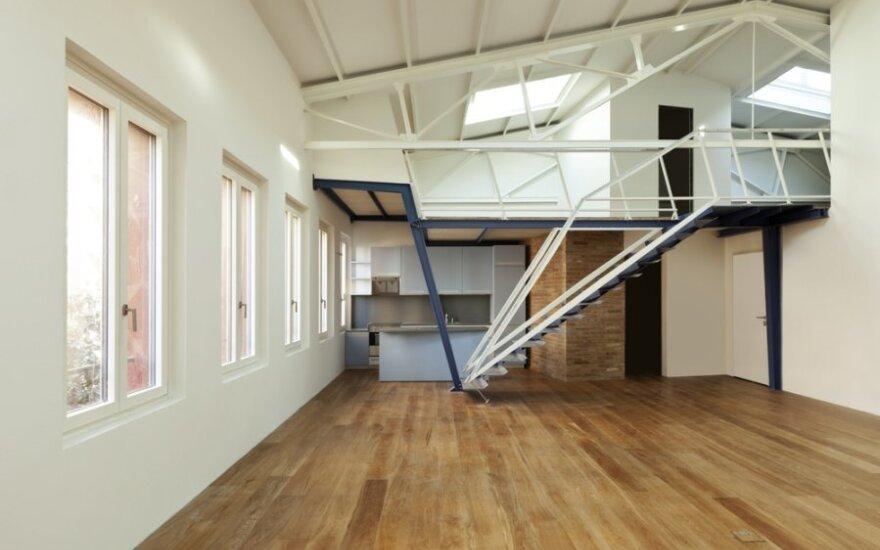 Su kokiomis problemomis susiduria būstus loftuose įsigiję žmonės