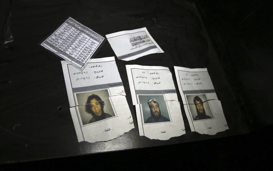 Slapti ISIS dokumentai