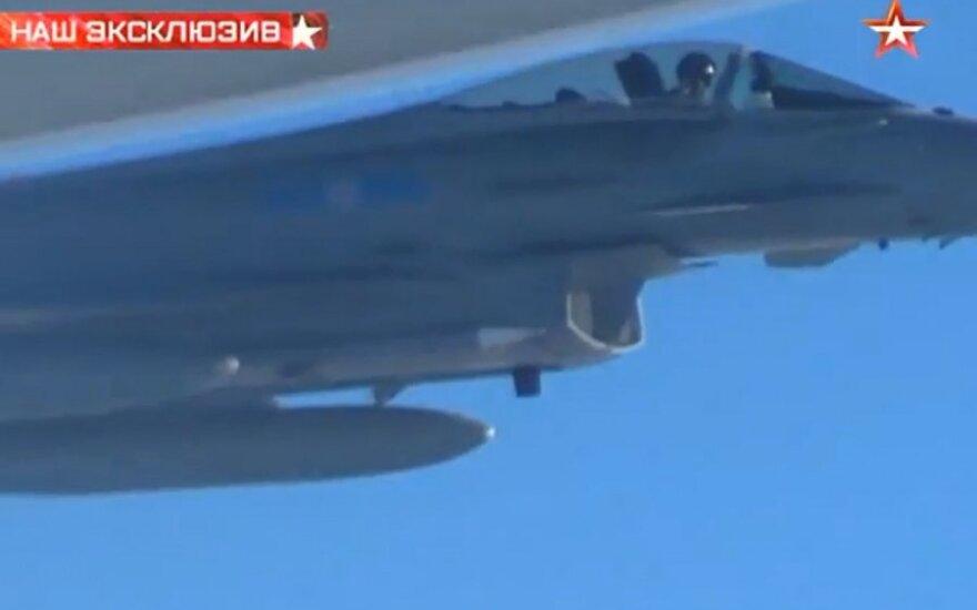 Virš Baltijos jūros - didžiausias šiemet Rusijos karinių orlaivių aktyvumas