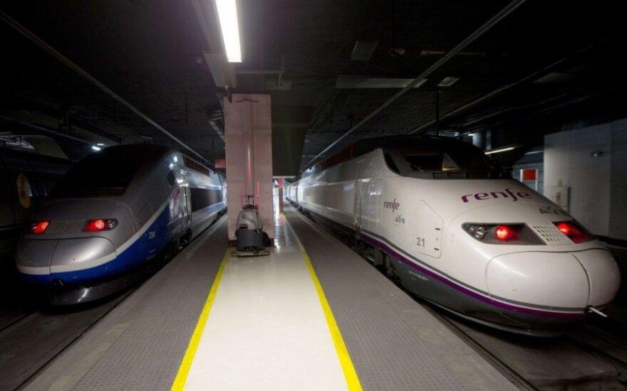 Greitieji traukiniai iš Barselonos į Paryžių