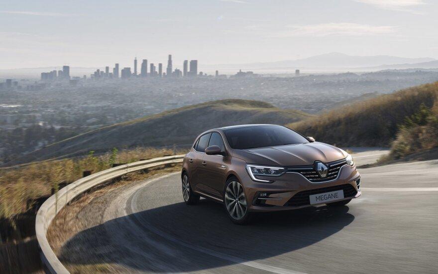 """""""Renault"""" atnaujino """"Megane"""" gamą"""
