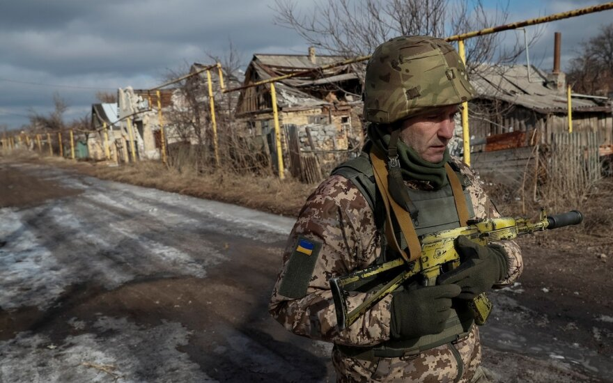 Įspėja: Rusija siekia pasėti paniką tarp Ukrainos gyventojų