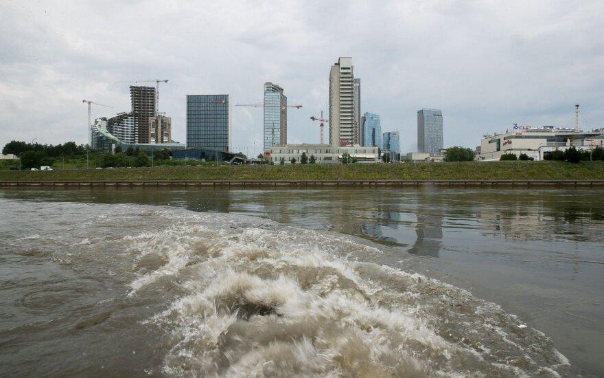Upė po liūties