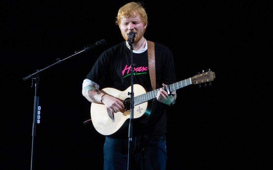 Ed Sheeran koncertas
