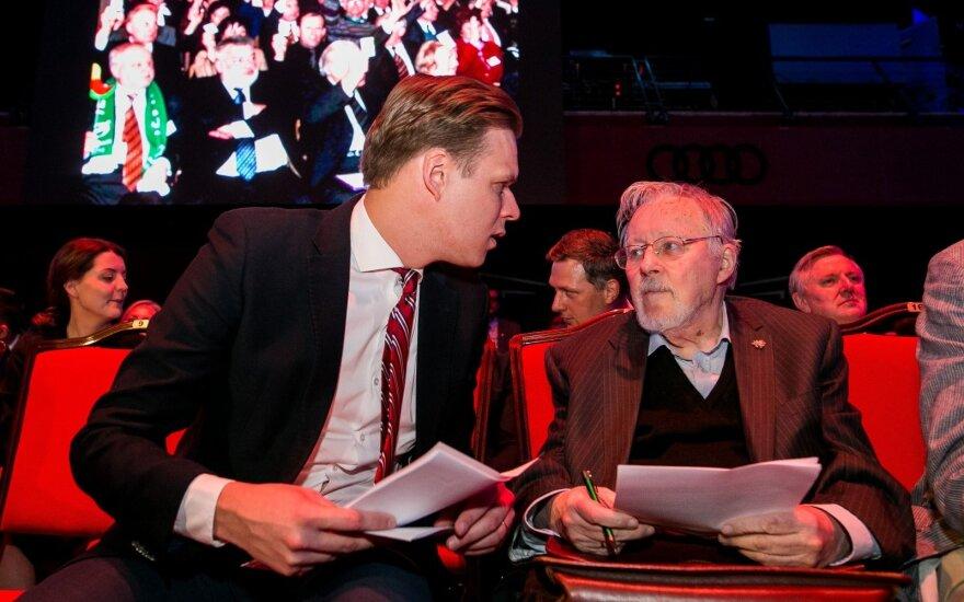 Vytautas Landsbergis įgėlė Karbauskiui ir valdantiesiems
