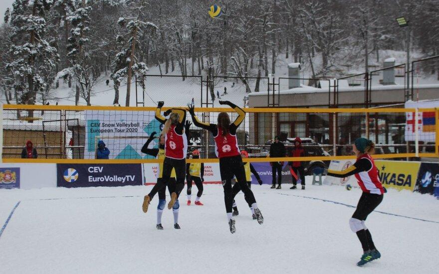 Sniego tinklinis (Foto: CEV)