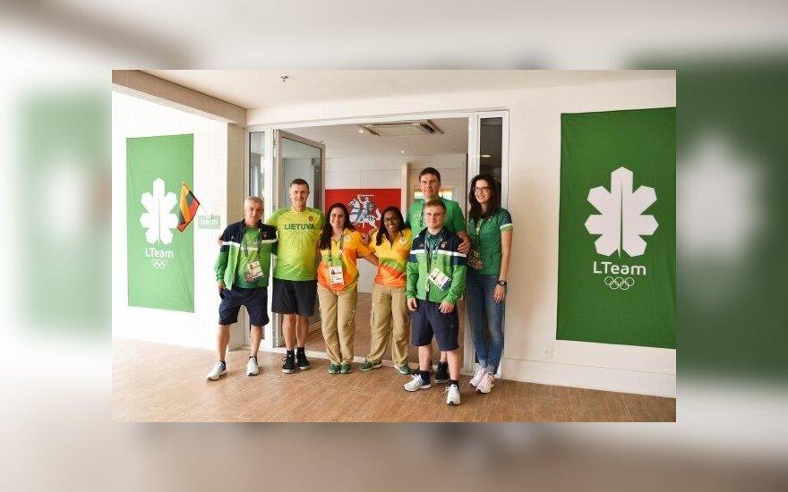 Rio de Žaneiro olimpiniame kaimelyje daugėja lietuvių