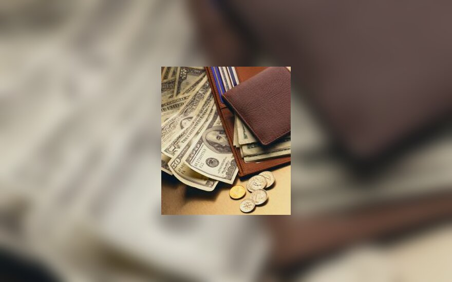 American Money and a Wallet