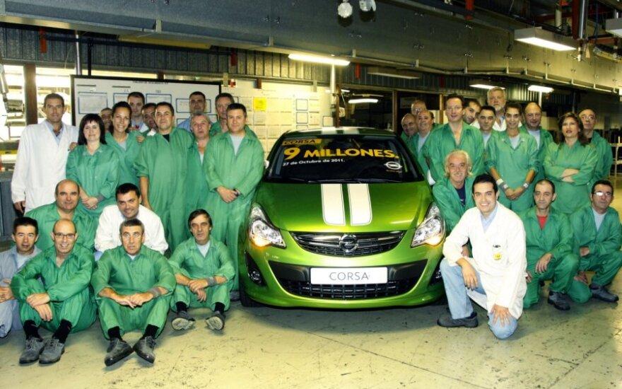 Jubiliejinė Opel Corsa