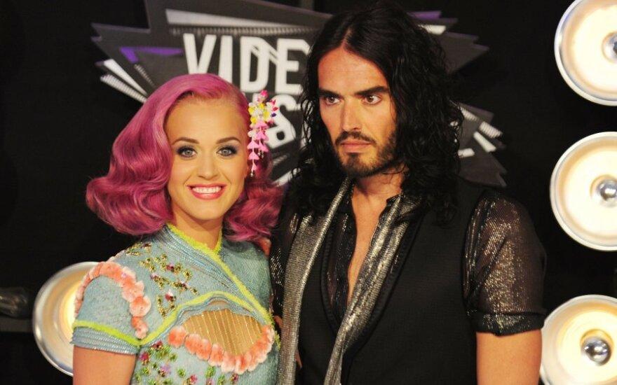 Katy Perry ir Russelas Brandas