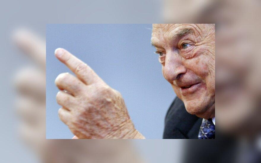 G.Sorosas prognozuoja ES žlugimą, eurobiurokratai kaltina jį spekuliacijomis