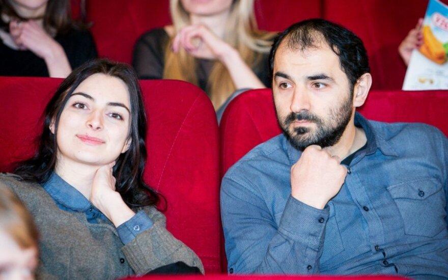 Maratas Sargsyanas su žmona Armine