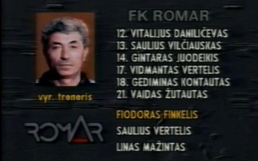 Ушел из жизни Федор Финкель – легенда литовского футбола