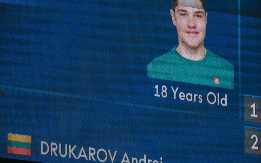 Svajonę išpildęs Drukarovas: aš už Lietuvą – noriu, kad mama ir visi lietuviai matytų rezultatą