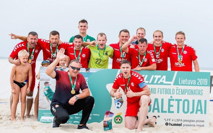 2019 metų paplūdimio futbolo čempionato trečiasis turas Nidoje
