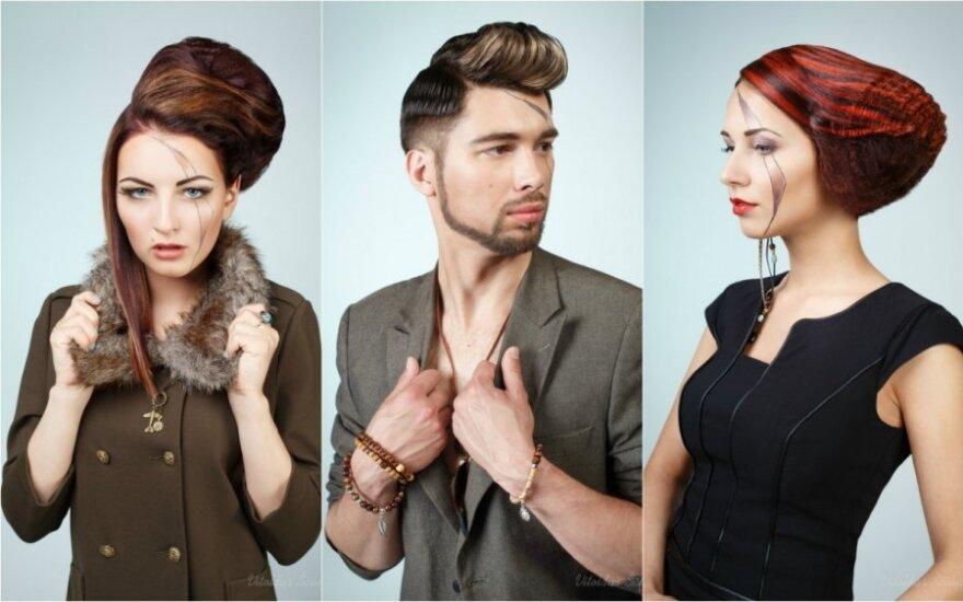 """Parodoje """"Pelenė"""" - naujausios plaukų dažymo tendencijos"""