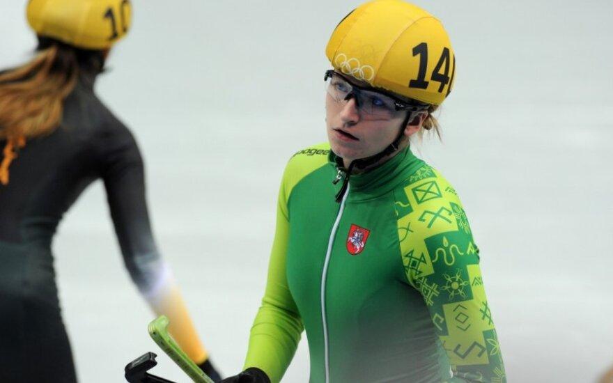 A. Sereikaitė pasiekė kol kas geriausią Lietuvos rezultatą Sočyje