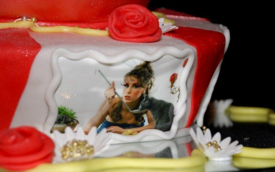 Kristės Kaikarytės gimtadienio tortas