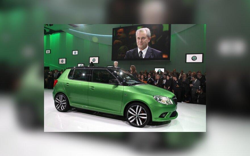 Škoda Fabia RS Ženevos automobilių parodoje