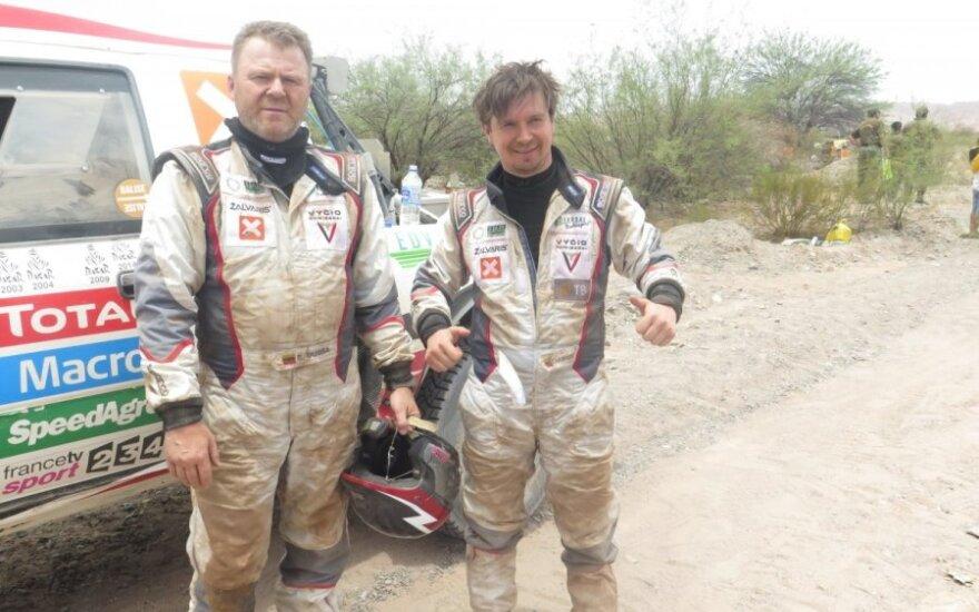 Dakaro ralio užkulisiai