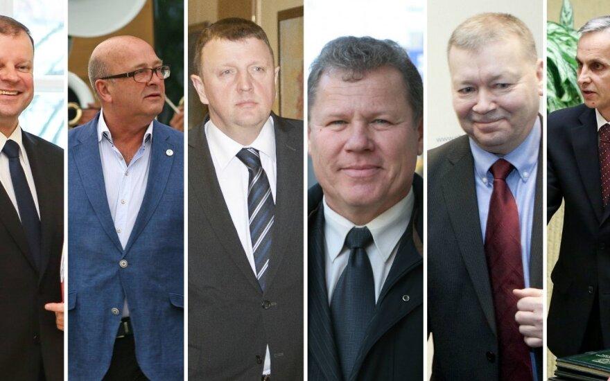 Į politiką žengia vyrai, pratę dėvėti uniformas