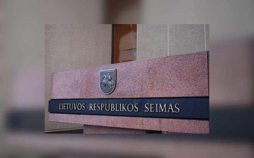 Seimas iš naujo svarstys Užimtumo rėmimo įstatymo pakeitimo įstatymą