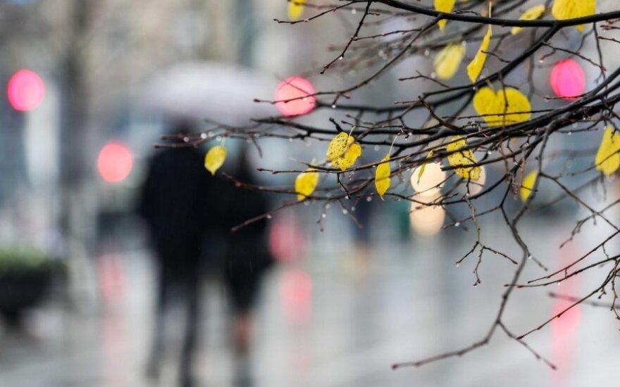 Orai: šiltasis atmosferos frontas atgins rudenišką šilumą