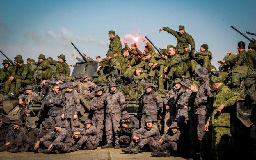 Tarptautinėse karinėse pratybose žengiama į antrą etapą