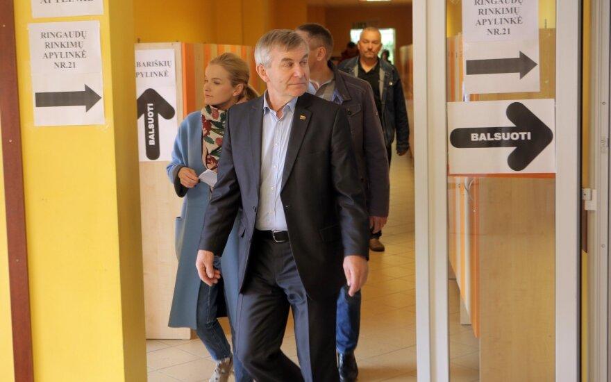 Pranckietis: frakcijos posėdis padės apsispręsti, už ką balsuoti Prezidento rinkimuose