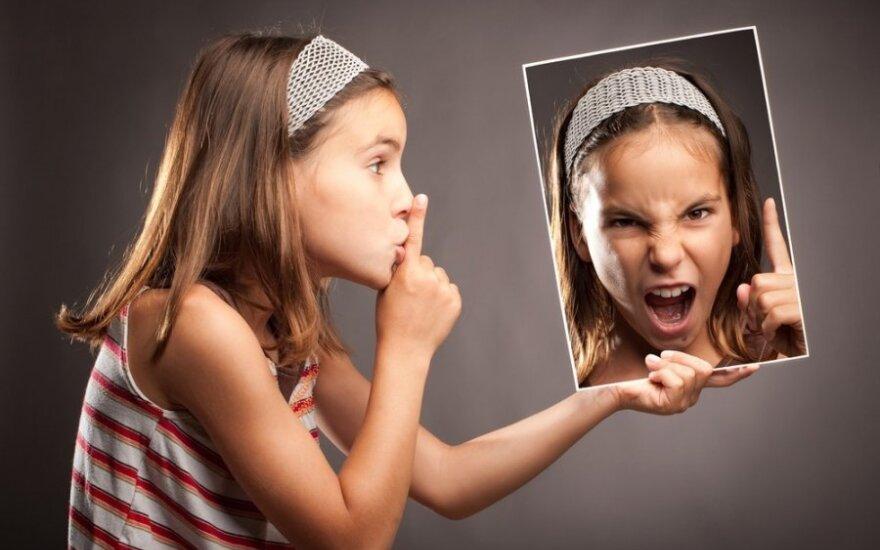 Ar jūsų šeimoje leidžiama pykti?