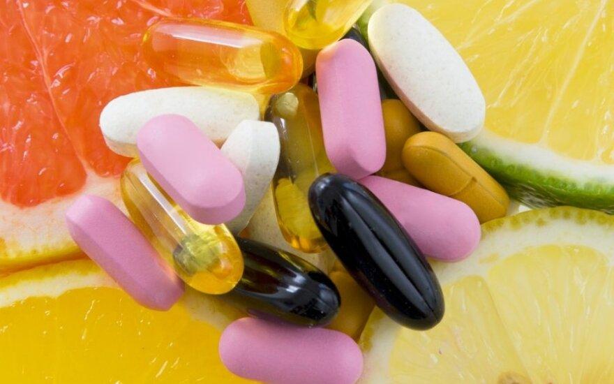 Kaip suderinti maistą ir vaistus