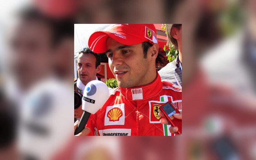 """Felipe Massa (""""Ferrari"""" )"""