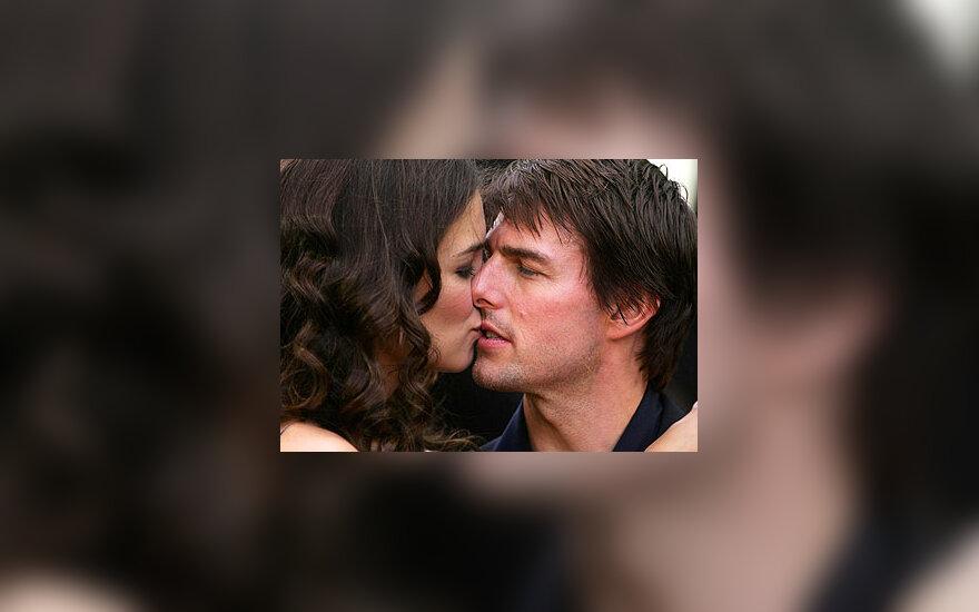 Tomas Cruise'as ir Katie Holmes