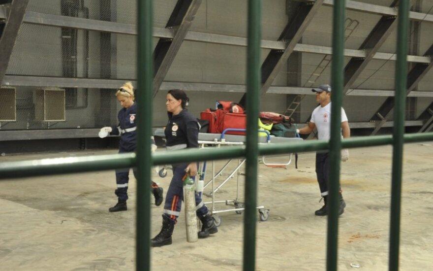 """Greitoji pagalba """"Arena Pantanal"""" stadione"""
