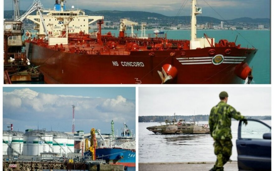 Tanker NS Concord in Klaipėda (photos: marinetraffic.com, scanpix, DELFI)